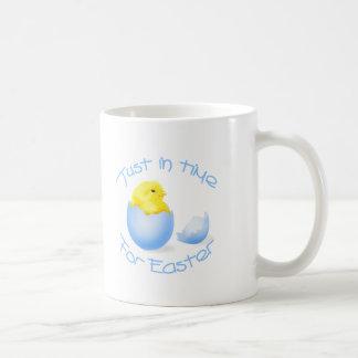 apenas a tiempo - muchacho taza de café