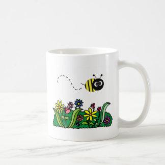 Apenas abeja taza básica blanca