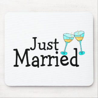 Apenas alegrías casadas mouse pads