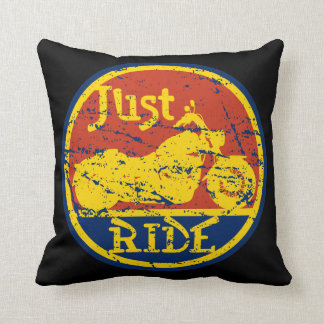 Apenas almohada decorativa de la motocicleta del