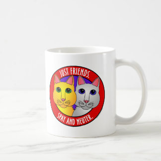 Apenas Amigo-Gatos Taza De Café