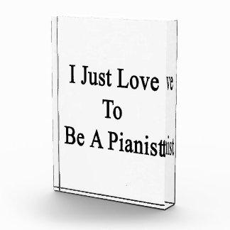 Apenas amo ser pianista