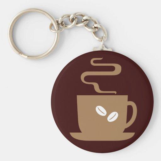 Apenas café llaveros personalizados