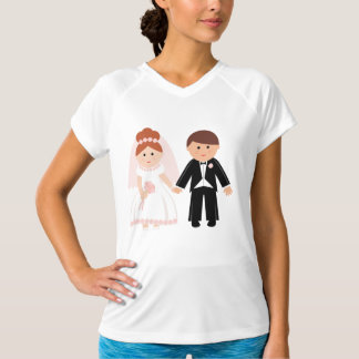 Apenas camiseta activa para mujer casada de los