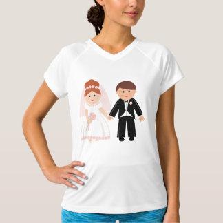 Apenas camiseta activa para mujer casada de los remeras