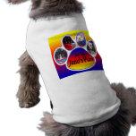 Apenas camiseta del perro del lugar de Juno de la  Ropa De Mascota