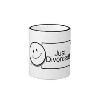 Apenas (cara feliz) .jpg divorciado taza de dos colores