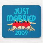 Apenas casado 2009 alfombrilla de raton