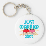 Apenas casado 2009 llaveros