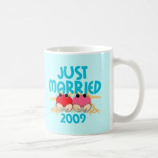 Apenas casado 2009 tazas de café