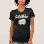 Apenas casado camiseta
