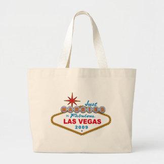 Apenas casado en Las Vegas fabuloso 2009 Bolsas De Mano