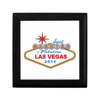 Apenas casado en Las Vegas fabuloso 2014 (muestra) Caja De Recuerdo