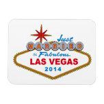 Apenas casado en Las Vegas fabuloso 2014 (muestra) Iman De Vinilo
