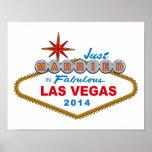 Apenas casado en Las Vegas fabuloso 2014 (muestra) Impresiones