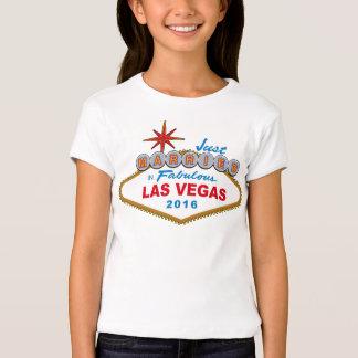 Apenas casado en Las Vegas fabuloso 2016 (muestra) Remeras