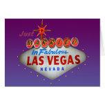 Apenas casado en Las Vegas que casa invitaciones Felicitacion
