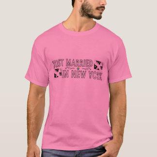 Apenas casado en Nueva York (matrimonio Playera