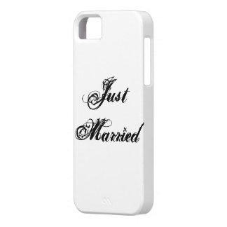 Apenas casado iPhone 5 carcasa
