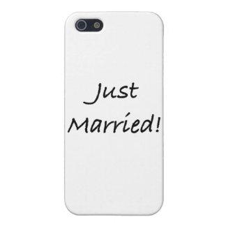 apenas casado iPhone 5 fundas