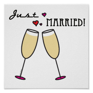 Apenas casado póster