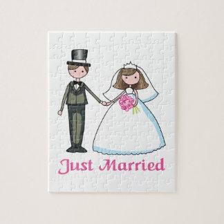 Apenas casado puzzles con fotos