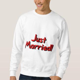 Apenas casado (rojo) sudadera