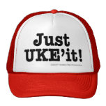 Apenas casquillo de UKE'it Gorras
