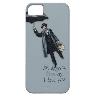 Apenas cayendo en tarjeta del día de San Valentín Funda Para iPhone SE/5/5s