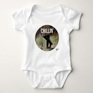 Apenas Chillin en el prado - subtítulo del arte de Body Para Bebé