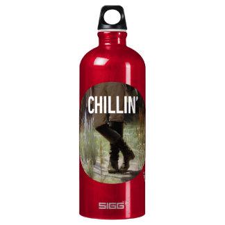 Apenas Chillin en el prado - subtítulo del arte de Botella De Agua