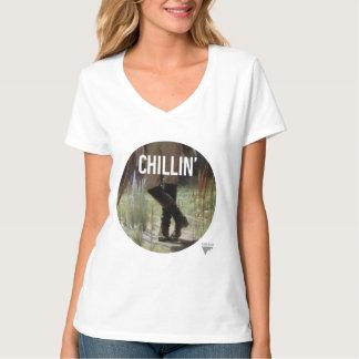 Apenas Chillin en el prado - subtítulo del arte de Playera