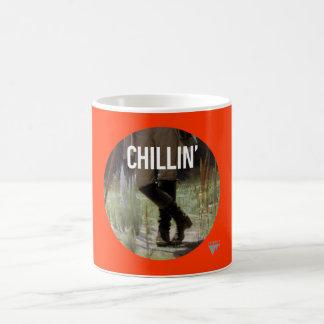Apenas Chillin en el prado - subtítulo del arte de Taza De Café