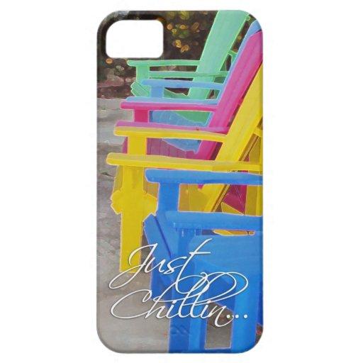 ¡Apenas Chillin en la silla! iPhone 5 Carcasa