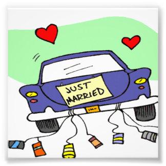 Apenas coche casado foto