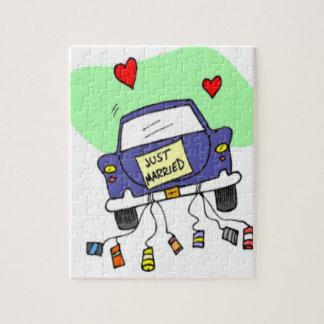 Apenas coche casado puzzles con fotos