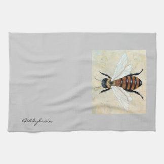 Apenas cocina de la abeja o toalla de la huésped