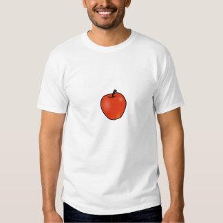 Apenas coma la comida real camisas