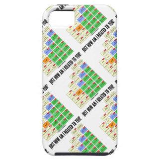 ¿Apenas cómo estoy relacionado a usted? iPhone 5 Case-Mate Coberturas