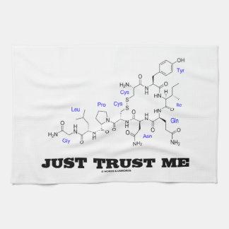 Apenas confíeme en (la hormona mamífera de la oxit toallas de cocina