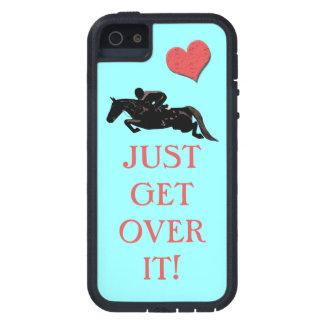 Apenas consiga sobre él el puente del caballo funda para iPhone 5 tough xtreme