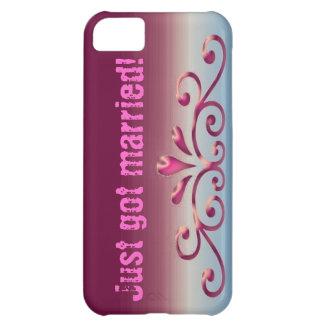 Apenas consiguieron la caja floral casada del iPho Funda Para iPhone 5C