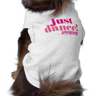 Apenas danza - rosa camisa de mascota