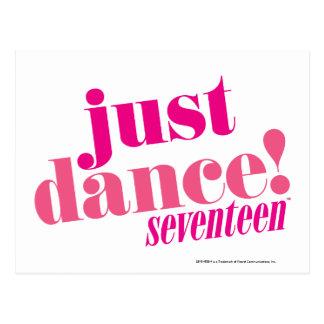 Apenas danza - rosa tarjeta postal