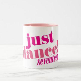 Apenas danza - rosa taza de dos tonos