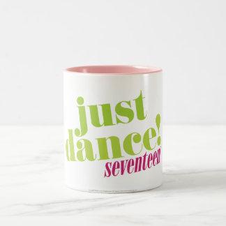 Apenas danza - verde taza de dos tonos
