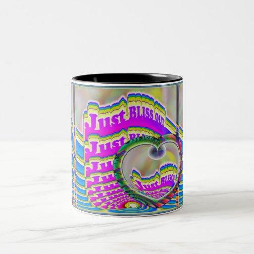 Apenas de la DICHA taza de café HACIA FUERA
