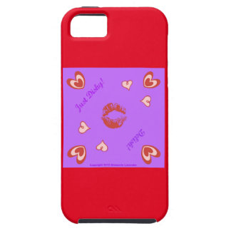 ¡Apenas… Delish Dishy de Diamante Lavendar! iPhone 5 Carcasas