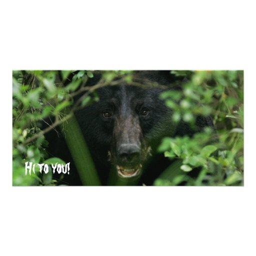 ¡Apenas diciendo hola! Tarjeta Personal Con Foto