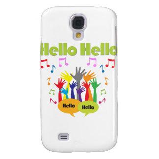 Apenas diga… Hola hola